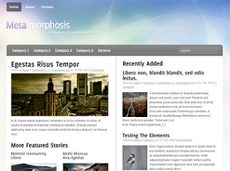 Meta-Morphosis template magazine wordpress