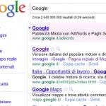 Posizione del tuo sito su Google