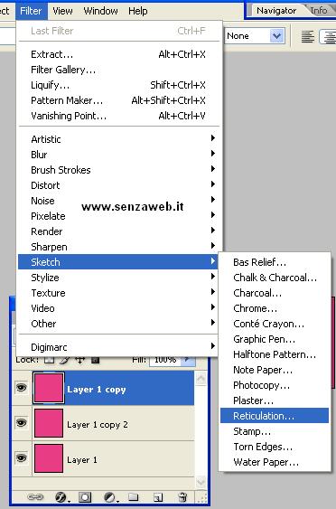 Modifichiamo il layer 1 copy