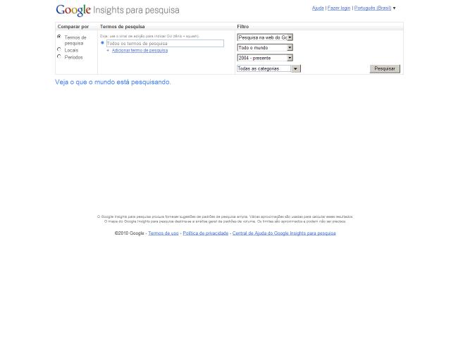 google statistiche per la ricerca