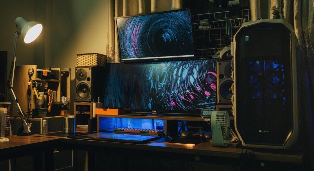 monitor per grafici