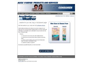 servizio meteorologico sul tuo sito