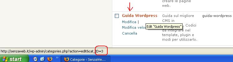 Wordpress: modificare il template di singole categorie